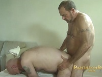 Mature men Stephen and Tim fuck