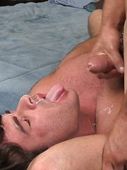 Glenn and Teo - bareback and facial