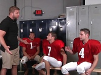 Football Fuckdown Part 3 - JO - Jizz Orgy - Colby Jansen - Duncan Black - Johnny Rapid - Rod Daily & Ryan Rockford