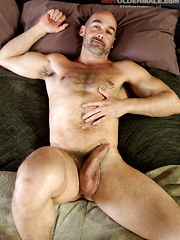 Nick Forte shows his ass & cock