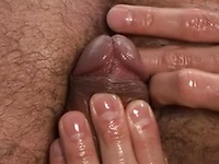 Handsome stud wanking off his dick