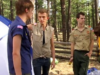 Jason and Tanner make the most of their trip out of camp when they're left alone