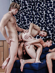 Cock Party Orgy