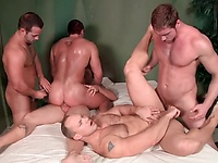 Bubble Butts - JO - Jizz Orgy - Connor Maguire