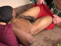 Black stud Dwayne serviced