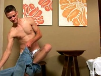 College Dudes - Chad Busts A Nut