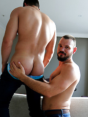 Our hot mates Romain Deville and James Nowak in their first hook up