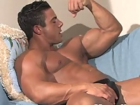 Rocco shows his perfect muscled body