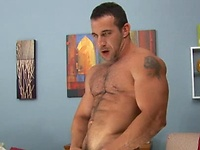 Max Sinclair shows his muscled cock