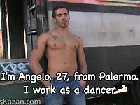 Casting. Angelo, dancer from Palermo