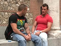 Madrid. Muscle men oral sex.