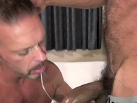 Lito Cruz and Colin Steele bareback