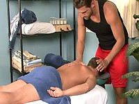 Lucas Knowles and Tucker Vaughn - massage and fuck