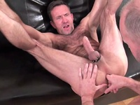 Mature men Paul Stag and Matt Sizemore fucking