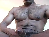 Youngblood jacking off his big cock