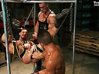 TitanMen exclusives David Anthony, Aymeric DeVille, JR Matthews and Tibor Wolfe
